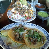 Photo taken at Frida Mexican Restaurant by Jeanette H. on 7/9/2013