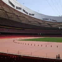Photo taken at National Stadium (Bird's Nest) by Richard D. on 6/3/2013