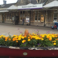 Photo taken at Weston-super-Mare Railway Station (WSM) by Jacques on 8/27/2016