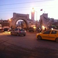 Photo taken at Bab al Khadhra by Rabii K. on 12/30/2012