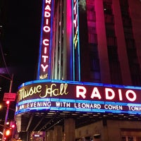Photo taken at Radio City Music Hall by Dan G. on 4/8/2013