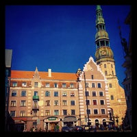 Photo taken at The Town Hall Square by Dmitry K. on 5/19/2013