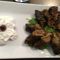 Photo taken at Yamas Mediterranean Grill by Alison M. on 12/16/2012