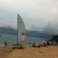Photo taken at Praia do Curral by Glenda C. on 2/9/2013