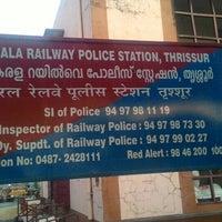 Photo taken at Thrissur Railway Station by Kiren P. on 2/27/2016