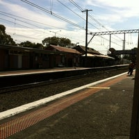 Photo taken at Ringwood Station by Thommo on 3/8/2013