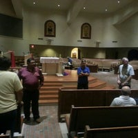 Photo taken at Holy Spirit Catholic Parish of McAllen by Marc David G. on 3/23/2016