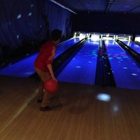 Photo taken at Go Planet Bowling by Karin on 1/3/2014