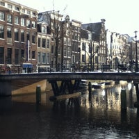 Photo taken at Crowne Plaza Amsterdam City Centre by Jake T. on 2/10/2013