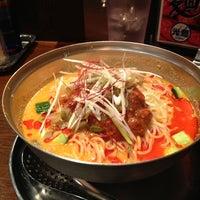 Photo taken at 光麺 恵比寿店 by matsumoto m. on 8/15/2013
