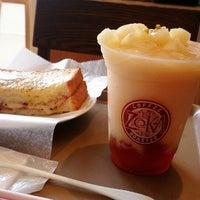 Photo taken at Zoka Coffee (ゾッカコーヒー) 目白店 by Masanori K. on 7/5/2014