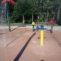 Photo taken at Oldsmar Spray Park by Gina S. on 5/5/2013