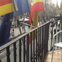 Photo taken at Hostal Mare Nostrum Barcelona by Luis J. on 2/19/2014
