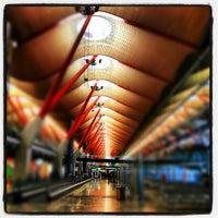 Photo taken at Terminal 4 Satélite by Juan Pedro M. on 10/19/2012