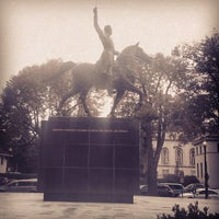 Photo taken at Simon Bolivar, the Liberator Statue by Jeremy H. on 10/23/2013