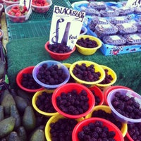 Photo taken at Ridley Road Market by Katja on 1/26/2013