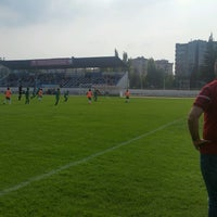 Photo taken at Abdurrahman Temel Futbol Sahası by Gökhan A. on 8/30/2016