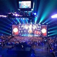Photo taken at Bridgestone Arena by Mark C. on 12/6/2012
