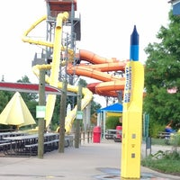 Photo taken at Hawaiian Falls by Joe S. on 6/24/2013