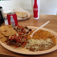 Photo taken at Taqueria Los Pericos #5 by RjD P. on 4/17/2014