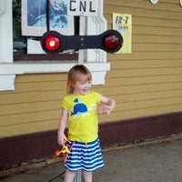 Photo taken at Conway Scenic Railroad by Ellen A. on 7/14/2013