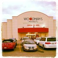 Photo taken at Woodman's Food Market by DaMontae J. on 11/1/2012