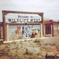 Photo taken at Wildlife West Nature Park by Andrew S. on 5/5/2014