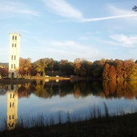 Photo taken at Furman University by David T. on 10/23/2012