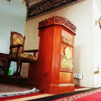 Photo taken at Masjid Shalahuddin Dirjen Pajak by AriA on 8/14/2014
