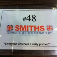 Photo taken at Smiths Authentic British Fish And Chips by Cui Wen K. on 11/19/2012