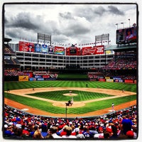 Photo taken at Globe Life Park in Arlington by Shane C. on 5/30/2013