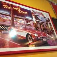 Photo taken at Ambrosia Diner by Ashley M. on 10/14/2013