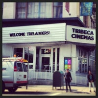 Photo taken at Tribeca Cinemas by Courtney O. on 6/18/2013