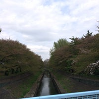 Photo taken at 尾崎橋 by ヒカル on 4/16/2016