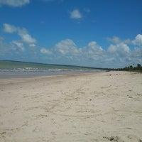 Photo taken at Praia Azul by Augusto N. on 10/15/2012