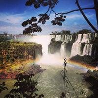 Photo taken at Iguazu Falls by Angelique C. on 4/26/2013