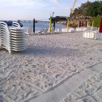 Photo taken at Playa El Paraíso by Eliud M. on 9/29/2012