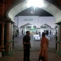 Photo taken at Masjid Agung Darussalam Bojonegoro by Abine_ Z. on 10/25/2013