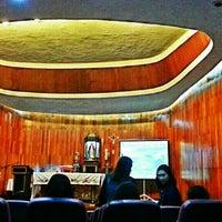 Photo taken at DBP Chapel by Albert James L. on 9/8/2014