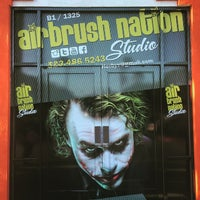Photo taken at Airbrush Nation by Erbey V. on 6/16/2015