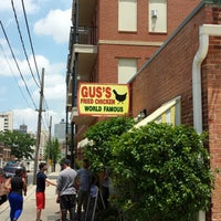 Photo taken at Gus' World Famous Fried Chicken by Clayton D. on 5/20/2013