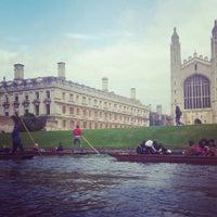 Photo taken at Cambridge by İmren Ç. on 6/18/2016