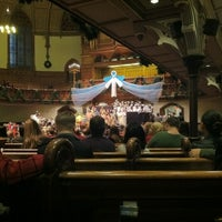 Photo taken at Fifth Avenue Presbyterian Church by MaRiNi🌷 A. on 12/16/2012