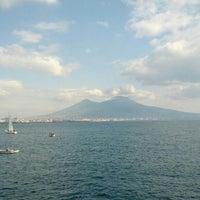 Photo taken at Lungomare di Napoli by Francesco O. on 2/16/2013