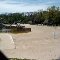 Photo taken at Harold Hall Quarry Beach by Eric P. on 5/6/2013