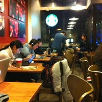 Photo taken at Starbucks by RussianHate on 1/4/2013