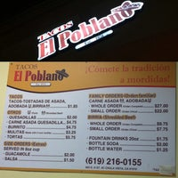 Photo taken at Tacos El Poblano by Chuck @. on 11/15/2013