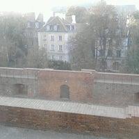 Photo taken at Kanonia Hostel Warsaw by Bela B. on 10/4/2013