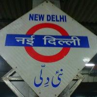 Photo taken at New Delhi Railway Station (NDLS) by Meghs M. on 11/29/2012