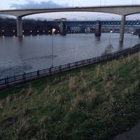 Photo taken at Redheugh Bridge by Paul T. on 3/4/2014